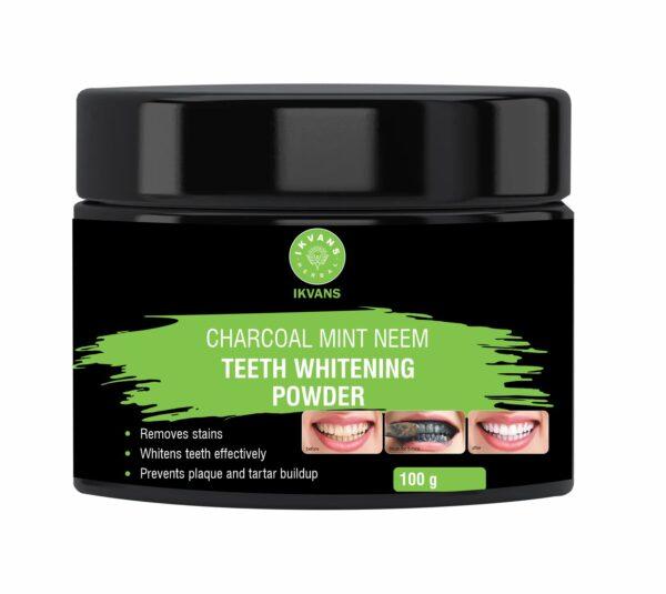 Charcoal Teeth Powder Label 2