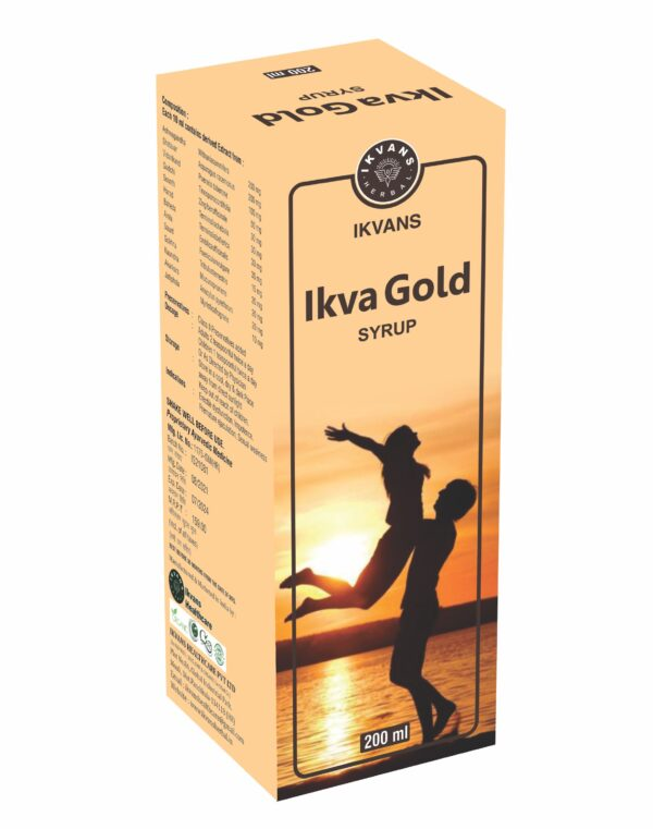 IKVA GOLD SYRUP 200ML 1