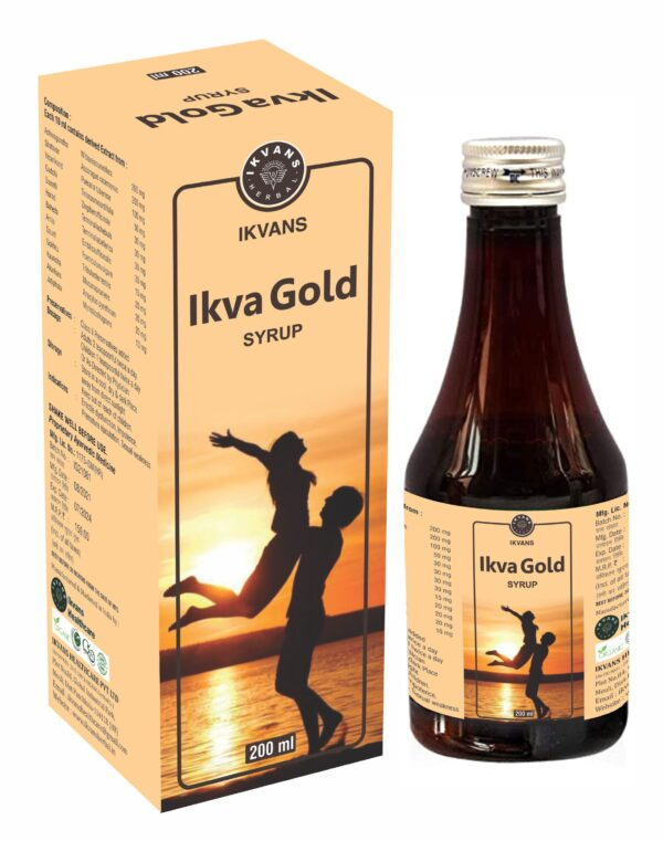 IKVA GOLD SYRUP 200ML